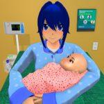 Anime Family Life Simulator Pregnant Mother Games MOD Unlimited Money 1.0.4