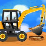 Construction Vehicles Trucks – Games for Kids MOD Unlimited Money 2.0.2