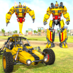 Flying Ghost Robot Car Game MOD Unlimited Money 1.1.5