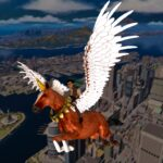 Flying Horse Taxi City Transport Horse Games 2021 MOD Unlimited Money 3.0