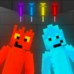 Fire and Water Playground Red and Blue Ragdoll MOD Unlimited Money 1.0.0